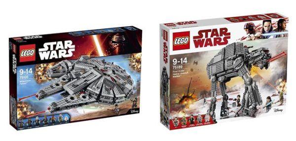 20% Rabatt auf alle Lego Spielwaren bei ToysRUs   z.B. Lego Star Wars Slave I für 159,99€ (statt 190€)