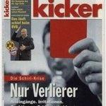 17 Ausgaben vom Kicker für 55,25€ inkl. 50€ Verrechnungsscheck