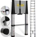 Eaxus Teleskopleiter (3,8 Meter) für 51,99€ (statt 90€)
