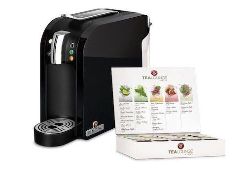 Teekanne Tealounge Kapselautomat inkl. 20 Kapseln für 38,97€ (statt 55€)