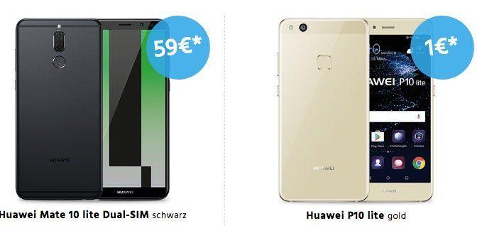 o2 Allnet  & SMS Flat + 5GB LTE + div. Top Smartphones ab 19,99€ mtl.