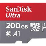 Sandisk Ultra A1 microSDXC 200GB für 33€ (statt 44€)