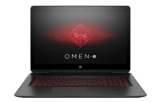 HP OMEN 17 w222ng Gaming Notebook mit GTX 1050 Ti für 999€ (statt 1.145€)