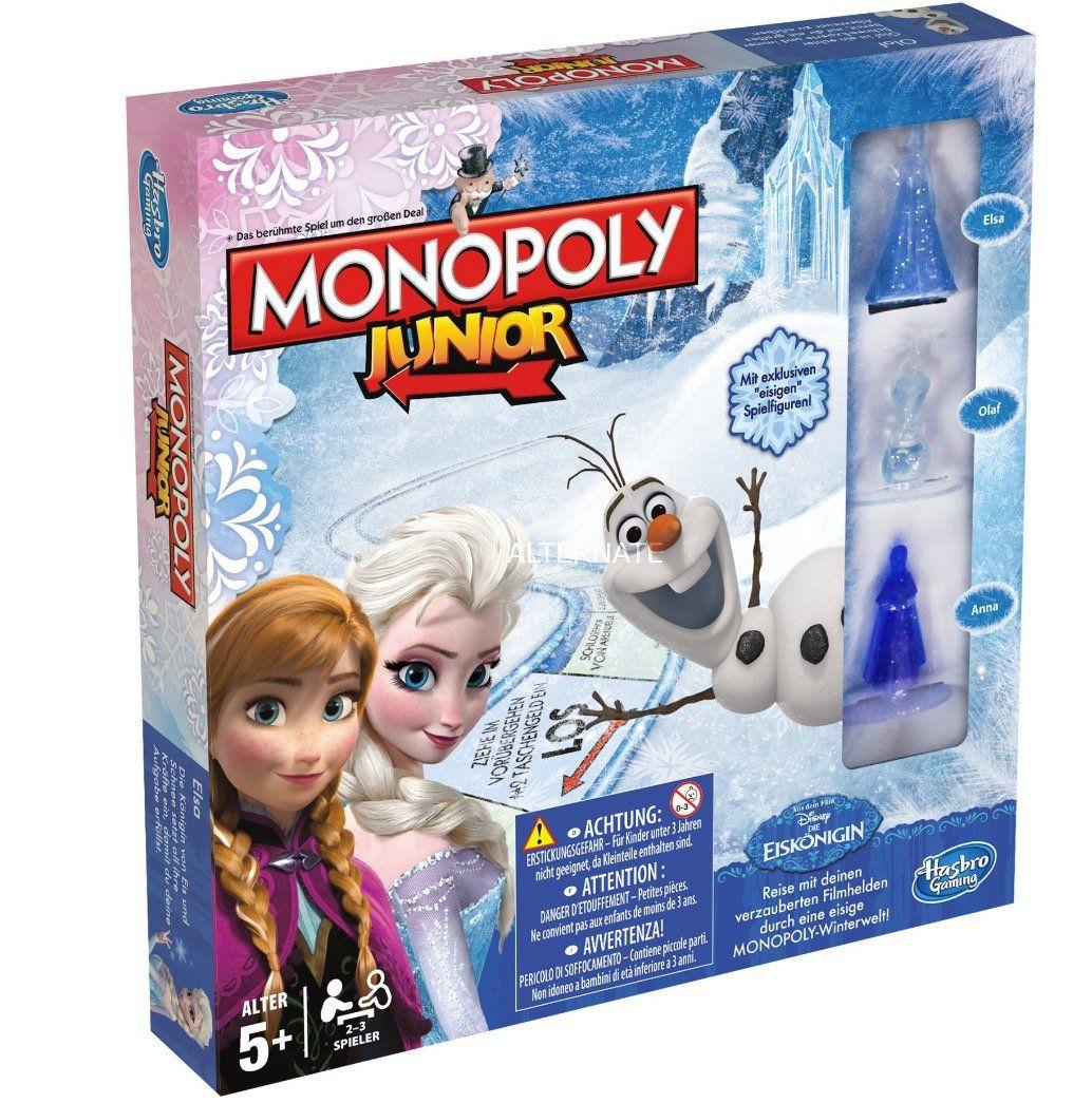 Vorbei! Hasbro Die Eiskönigin – Monopoly Junior Brettspiel für 11,94€ (statt 23€)