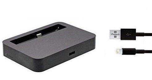 Schnell! iPhone iProtect Ladestation mit Lightning Kabel für 1€
