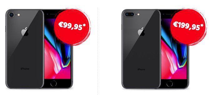 Vodafone Smart L mit 5GB LTE für 41,99€ mtl. + iPhone 8 für 99,95€ (oder 8 Plus für 199,95€)