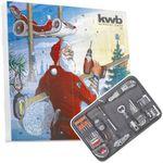 kwb Adventskalender 2017 (24 Türchen mit hochwertigem Werkzeug, inklusive Tasche) für 34,99€ (statt 45€)