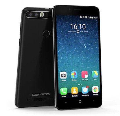 Leagoo Kiicaa Power   5 Zoll Smartphone mit 16GB für 56,68€