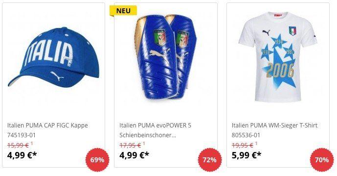 Italien Sale bei SportSpar   z.B. Langarm Trikot ab 13,99€