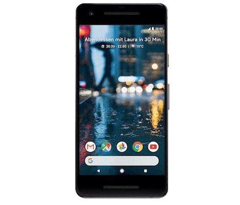 Effektiv mit großem Gewinn! Google Pixel 2 Smartphone für 1€ + Telekom Allnet Flat mit 1GB für 24,99€ mtl.