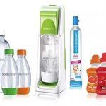 Sodastream Cool inkl. 4 PET-Flaschen, 4x Sirup und CO2-Zylinder für 44,90€ (statt 68€)