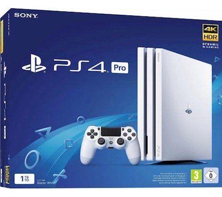 Playstation 4 Pro in Weiß für 319€ (statt 358€)