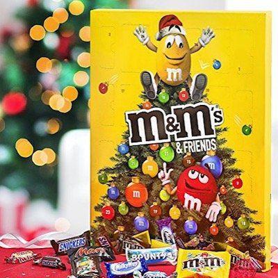 m&m Friends Schokoladen Adventskalender mit 24 Portionsbeutel für 5,99€   Plus Produkt!