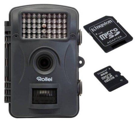 Rollei WK 10 Wildkamera inkl. Batterien + 8GB Speicherkarte für 99,90€ (statt 156€)