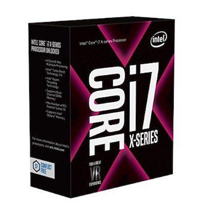 Intel Core i7 7740X (Boxed ohne Kühler) für ca. 215€ (statt 305€)
