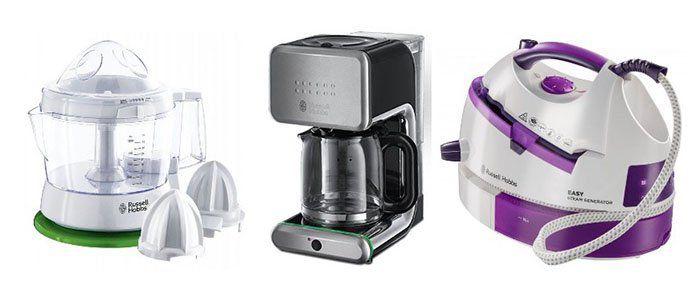Russell Hobbs Geräte stark reduziert   z.B. Glas Kaffeemaschine für 29,12€ (statt 56€)