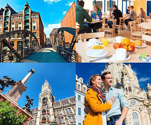 Knaller! A&O Hostelgutschein (2 Personen, 2 ÜN) für 22 Städte für nur 33€