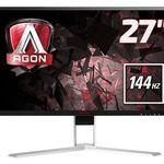 AOC AGON AG271QX – 27 Zoll Gaming Monitor mit 144Hz für 413,04€(statt 445€)
