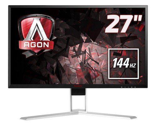 AOC AGON AG271QX   27 Zoll Gaming Monitor mit 144Hz für 413,04€(statt 445€)