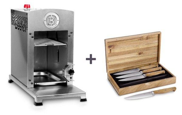 Beefer One Grillgerät inkl. Steakmesser Set für 579€ (statt 669€)