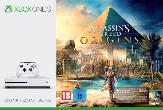 Vorbei! Xbox One S 500GB + Assassins Creed: Origins für 169€ (statt 233€)