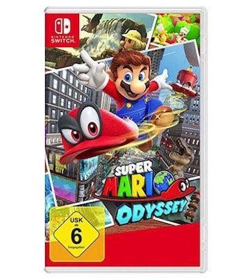 Super Mario Odyssey (Nintendo Switch) für 42,29€ (statt 49€)