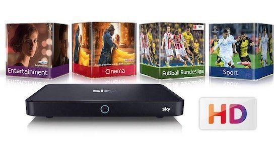 Sky Black Freitag Angebot   alle Pakete mit HD / Ultra HD für 43,75€ + 100€ Cashback + Sky Pro UHD Receiver gratis