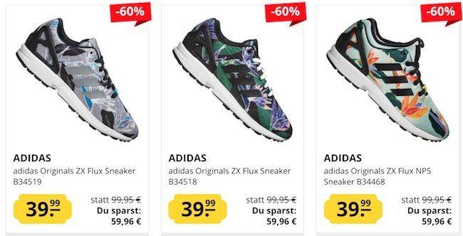 adidas ZX Flux Sneaker für je 43,94€ (statt 65€)