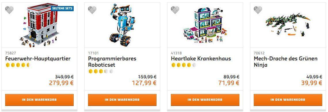 Lego:  20% auf ausgewählte Artikel am Cyber Monday + gratis Lego Nussknacker