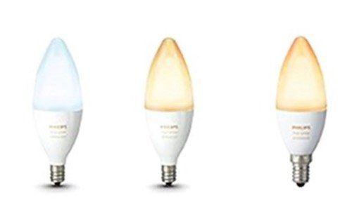 3er Pack Philips Hue White Ambiance E14 LED Leuchtmittel für 58,72€ (statt 76€)