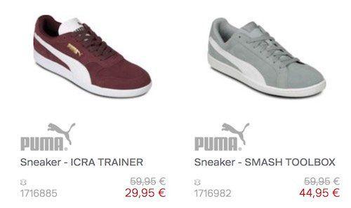 30% auf nicht reduzierte Puma Schuhe bei Roland Schuhe + VSK frei