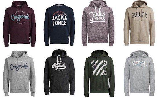 JACK & JONES Pullover und Hoodies Restgrößen für 19,99€