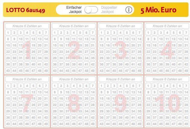 12 Lotto Tipps (5 Mio. Jackpot) + 35 Rubbellose für 9,90€   nur Neukunden