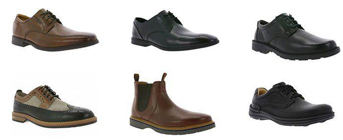 Clarks Schuh Sale (Restgrößen) bei Outlet46   z.B. Clarks Prangley Step Echtleder Halbschuhe ab 54,99€ (statt 78€)