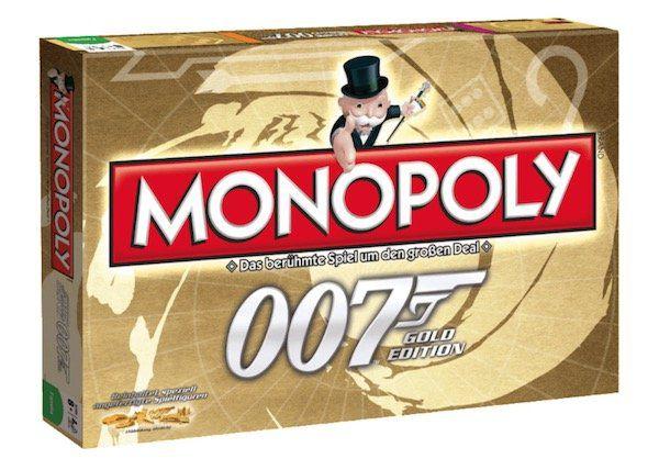 Monopoly   James Bond Gold Edition für 24,99€ (statt 44€)