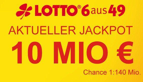 Lottobay 5€ Gutschein mit nur 5€ MBW   Lotto für 0,35€ spielen (10 Mio. Jackpot!)