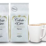 2kg Celeste d'Oro Kaffeebohnen für 24,13€ +  2 Design-Tassen gratis
