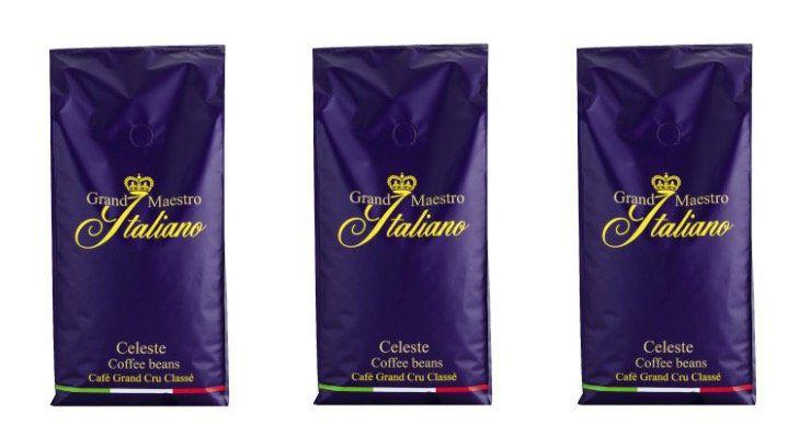 Grand Maestro Italiano Celeste   3kg Kaffeebohnen für 29,99€
