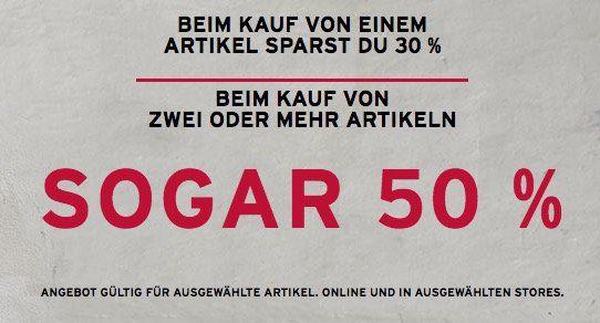 Levis Sale + 30% Rabatt (ab 2 Artikeln sogar 50%)   z.B. Herrenhemd Jackson Worker für 48,97€ (statt 60€)