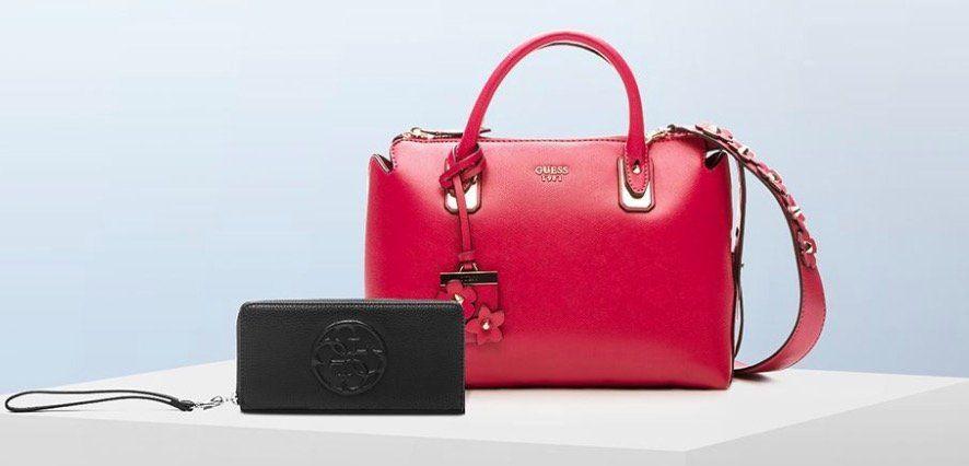 Guess Taschen und Accessoires bei Vente Privee mit bis zu 58% Rabatt