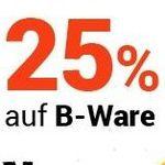 25% Rabatt auf B-Ware bei Medimops – günstige Bücher, Filme, Spiele