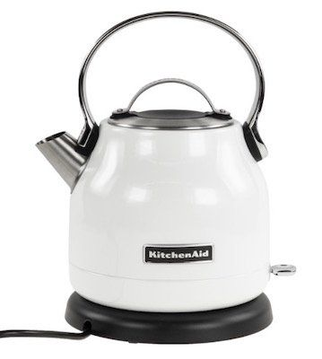 KitchenAid 5KEK1222   Wasserkocher mit 1,25 Litern und Kalkfilter für 64,90€