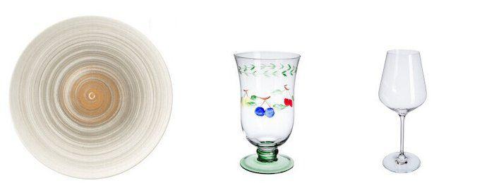 Villeroy & Boch Geschirr, Besteck und Gläser bei vente privee   z.B. 6 Dune Desert & Sun Speiseteller 32cm für 49,99€ (statt 96€)