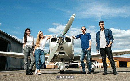 Wingly Mitflugzentrale Gutscheine bei vente privee   z.B. 200€ für 120€ oder 500€ für 300€