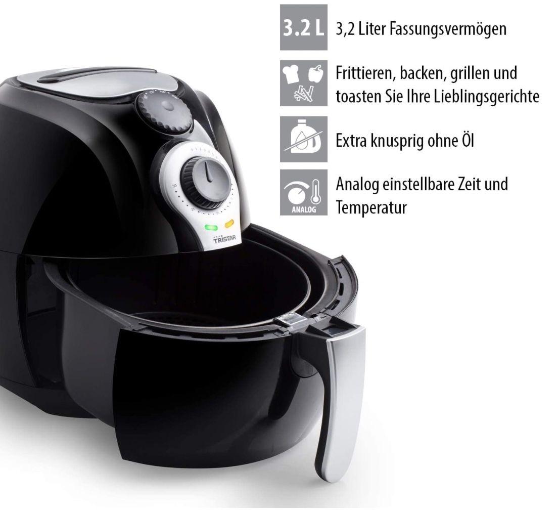 Tristar FR 6990 Crispy Fryer XL Heißluftfritteuse für 41,99€ (statt 63€)