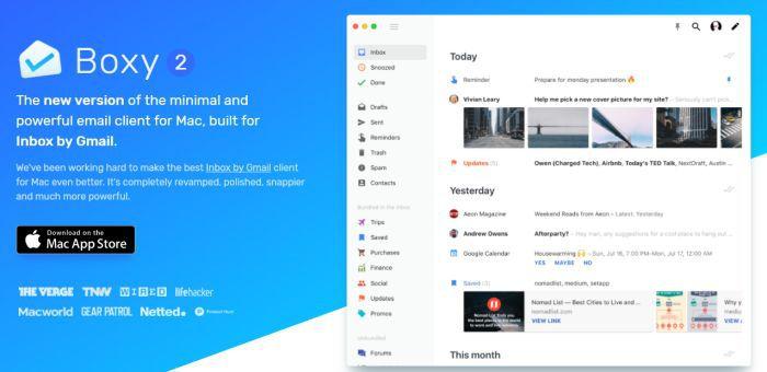 Boxy for Inbox by Gmail (MacOS) gratis statt 6,99€