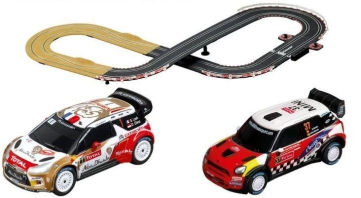 Carrera 20062433 Go!!! Lets Rally! Autorennbahn für nur 39€ (statt 46€)