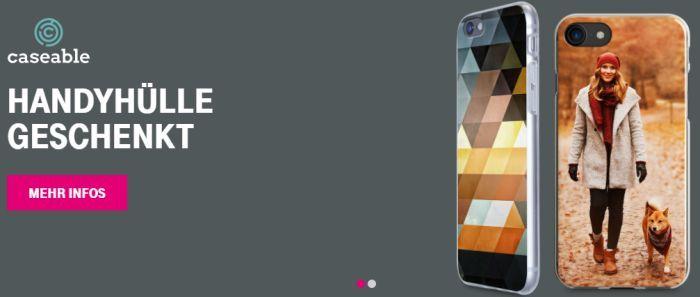 Nur für Telekom Kunden: Eigens gestaltete Handyhülle von Caseable geschenkt