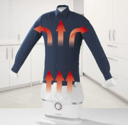 CLEANmaxx Bügler für Hemden & Blusen für 59,99€ (statt 74€)