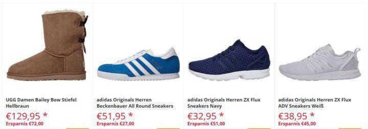 MandMDirect Cyber Sales mit bis zu 85% Rabatt   günstige Adidas ZX Flux ab 16,95€